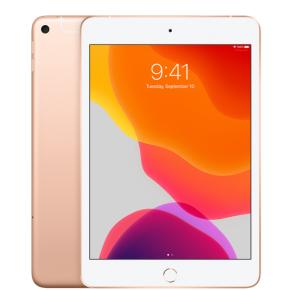 """Apple 7.9"""" iPad mini (Wi-Fi + Cellular) 256GB - Gold Front View"""